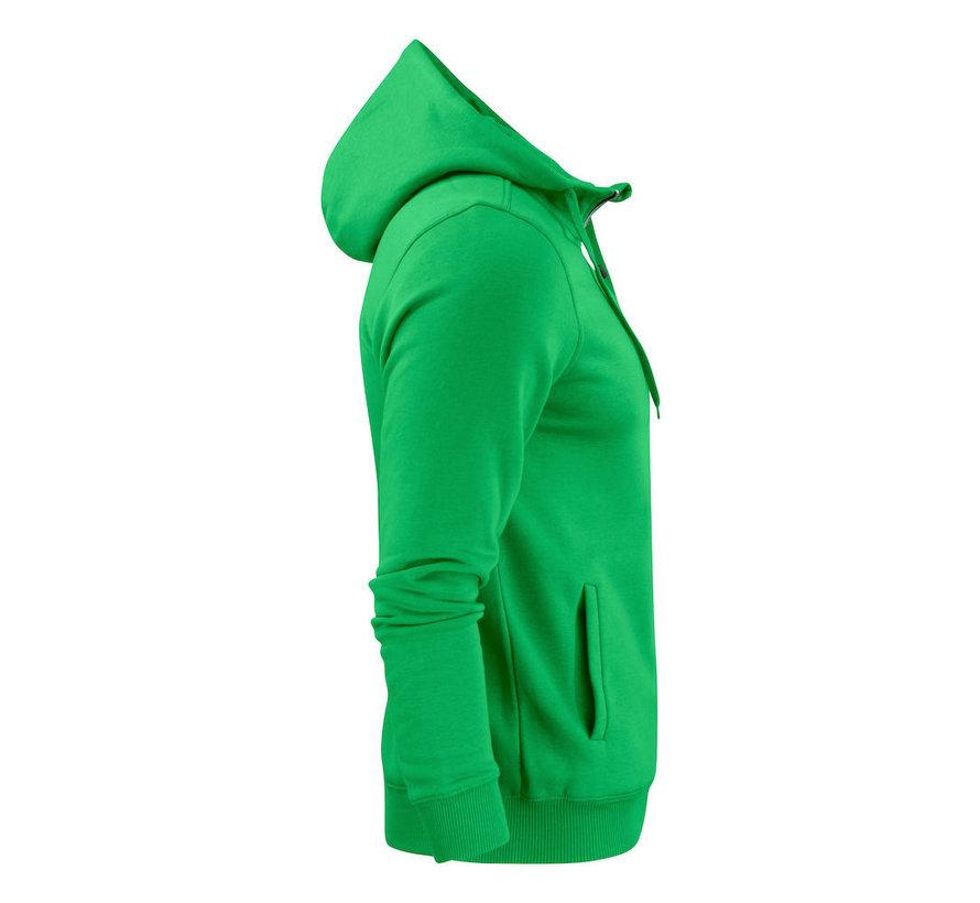 Printer Overhead sweatshirt met capuchon frisgroen