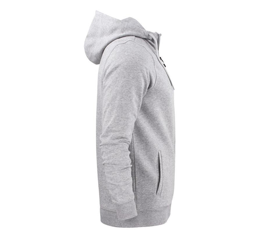 Printer Overhead sweatshirt met capuchon grijs mélée