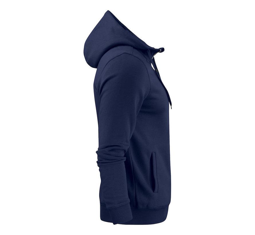 Printer Overhead sweatshirt met capuchon marine