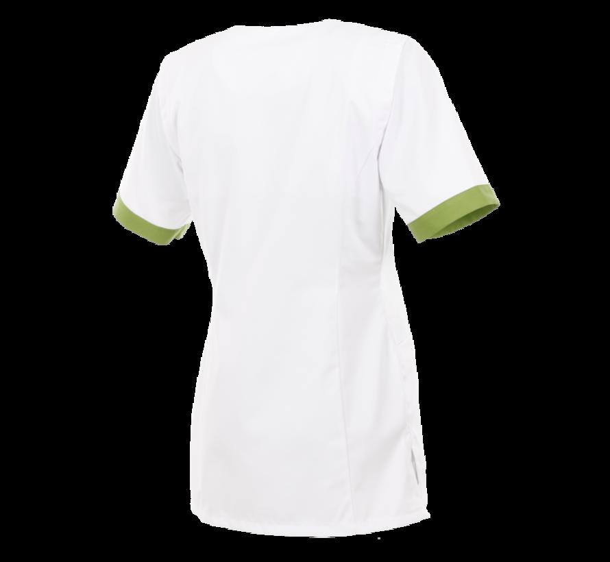 Alsico Norah dames tuniek wit groen