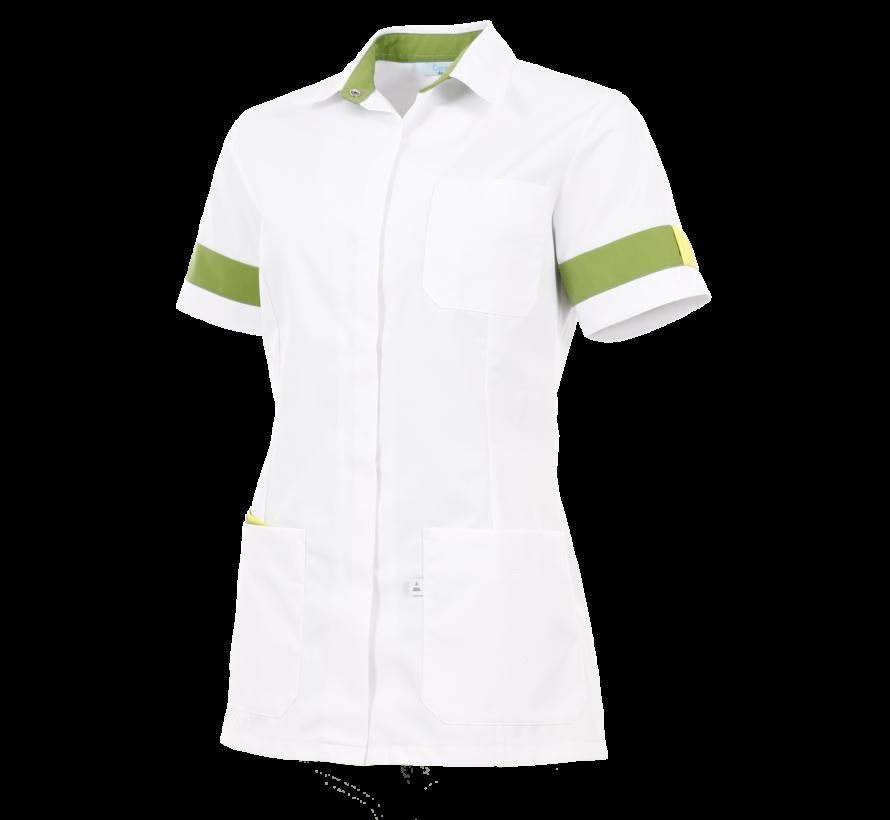 Alsico Verona dames tuniek wit groen geel