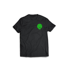 Seabass Cycles Seabass Cycles - Circle Logo - Black / Acid Green Ink