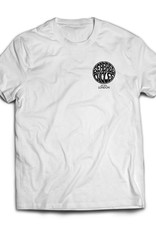 Seabass Cycles Seabass Cycles - Circle Logo - White / Black Ink