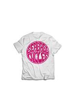Seabass Cycles Seabass Cycles - Circle Logo - White / Hot Pink Ink