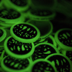 Seabass Cycles Seabass Cycles - Glow-in-the-Dark Button
