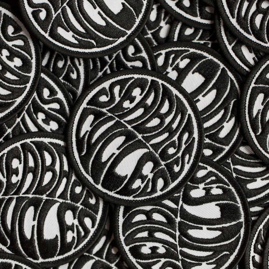 Seabass Cycles Seabass Cycles - Embroidered Patch - Black / White