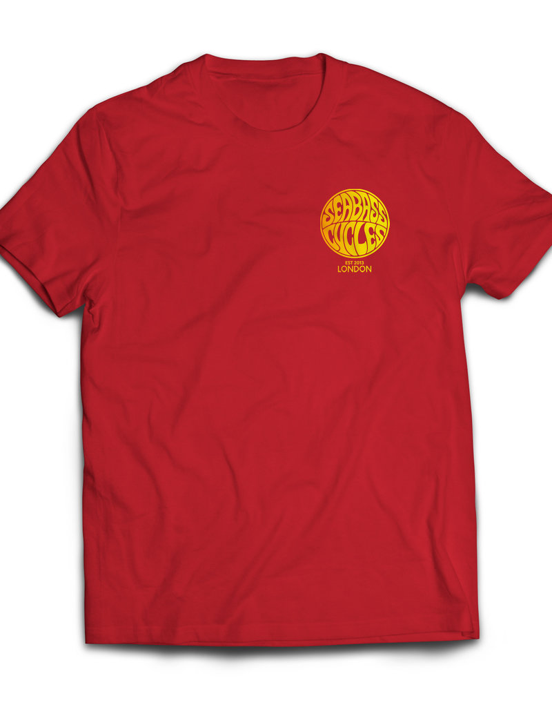 Seabass Cycles Seabass Cycles - Circle Logo Kids TShirt - Red