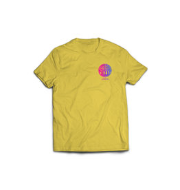 Seabass Cycles Seabass Cycles - Circle Logo Kids TShirt - Yellow