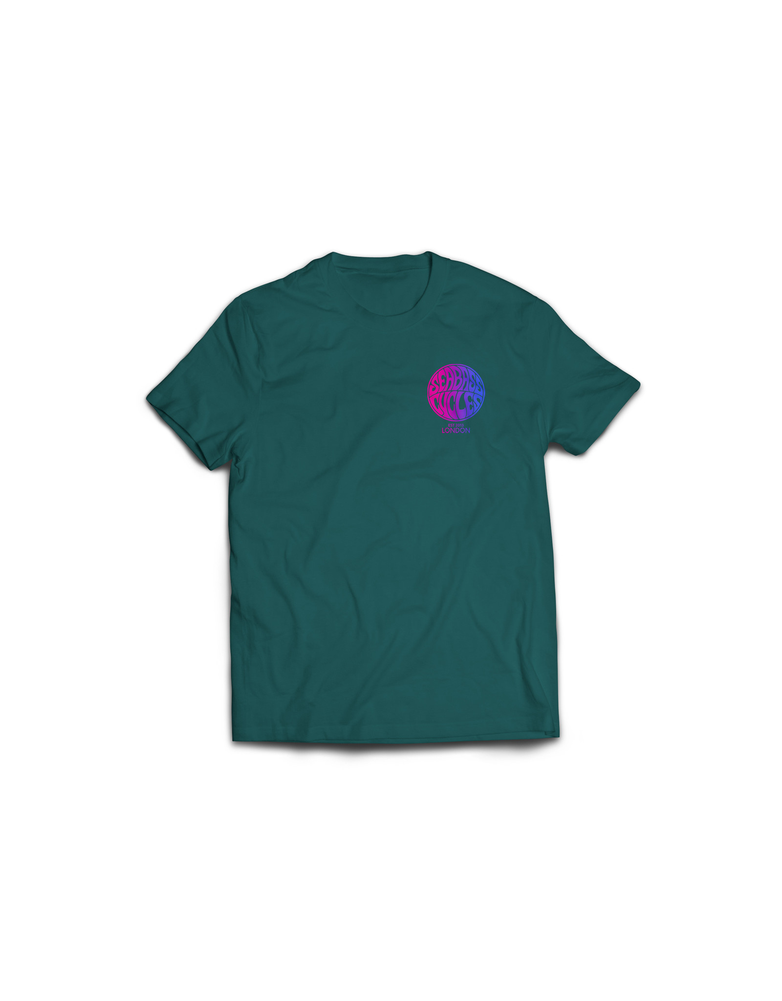 Seabass Cycles Seabass Cycles - Circle Logo Kids TShirt - Green