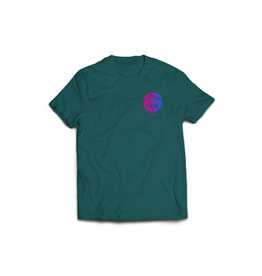Seabass Cycles Seabass Cycles - Circle Logo Kids TShirt - Green