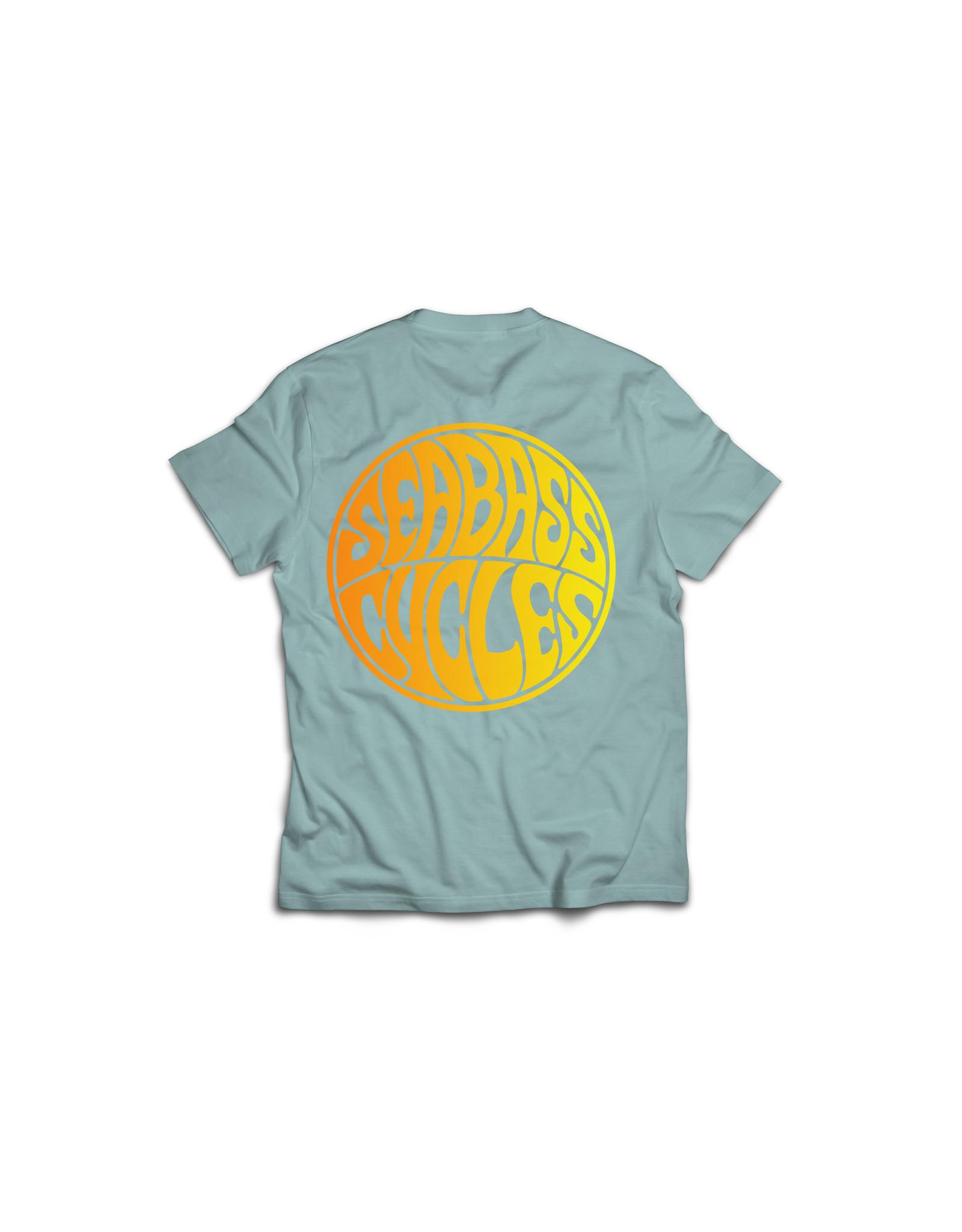 Seabass Cycles Seabass Cycles - Circle Logo Kids TShirt - Blue