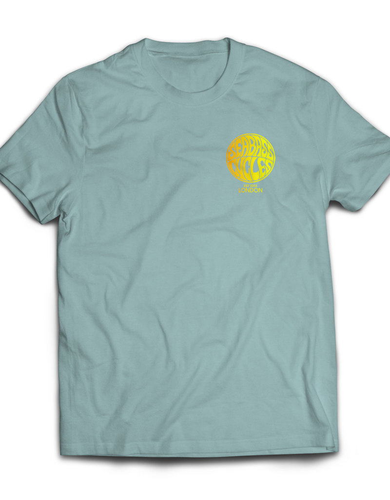 Seabass Cycles Seabass Cycles - Circle Logo Kids TShirt - Blue