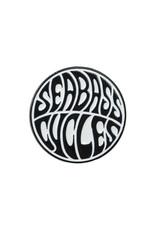 Seabass Cycles Seabass Cycles - Enamel Pin - Black / White