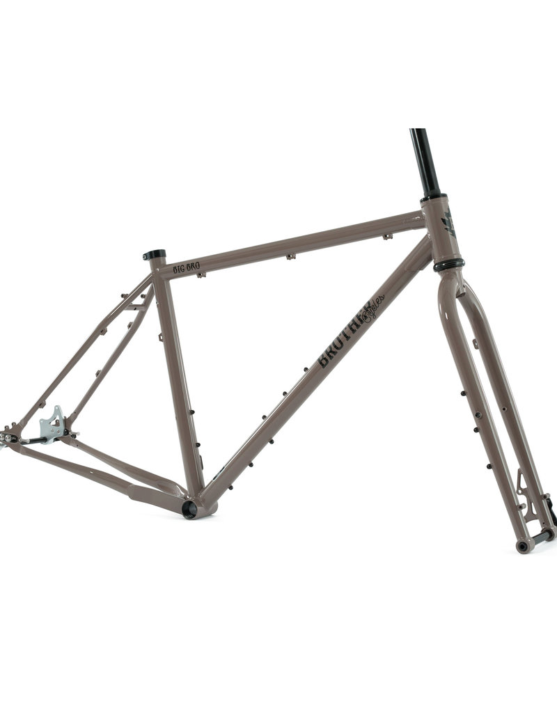 Brother Cycles - Big Bro Frameset 2019 - Clay