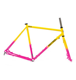 Brother Cycles - Kepler Disc Frameset 2019 - Acid Fade