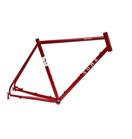 Soma Fabrications - Fog Cutter Frame - Rosso Red