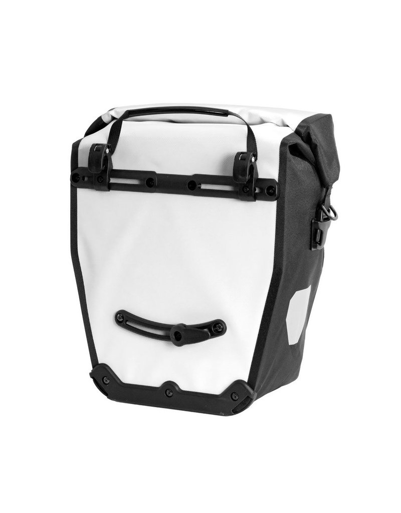Ortlieb - Roller City Panniers Rear - Red, Black & White