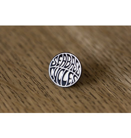 Seabass Cycles Seabass Cycles - Enamel Pin - Black / White