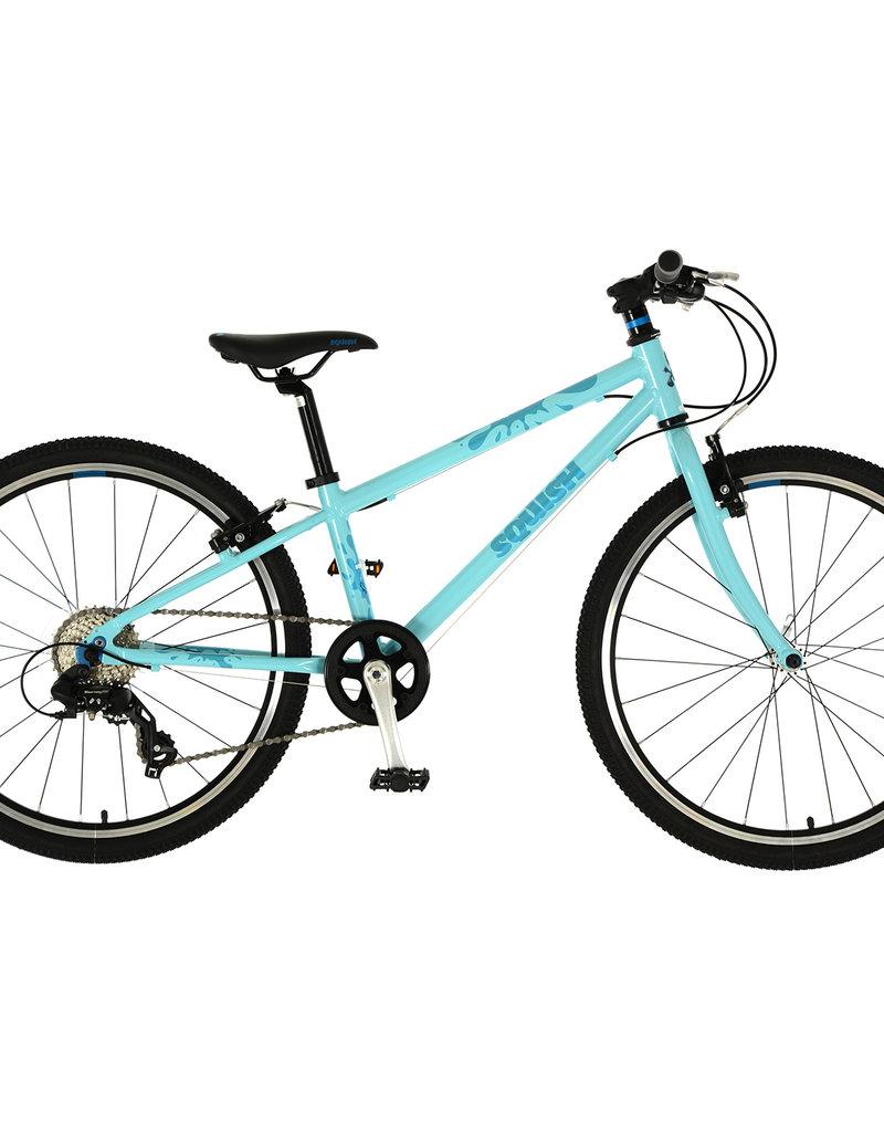 "Squish Squish - 24"" Kids Bike - Grey, Mint & Orange"