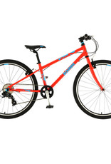 "Squish Squish - 26"" Kids Bike - Grey, Purple, Aqua & Red"