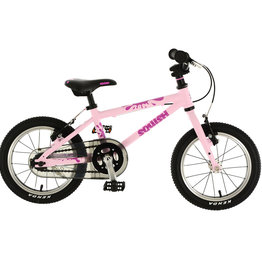 "Squish Squish - 14"" Kids Bike - Orange & Pink"
