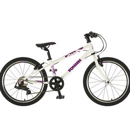 "Squish Squish - 20"" Kids Bike - Green, White & Purple"