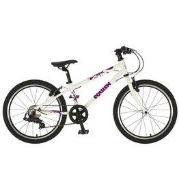 """Squish Squish - 20"""" Kids Bike - Green, White & Purple"""
