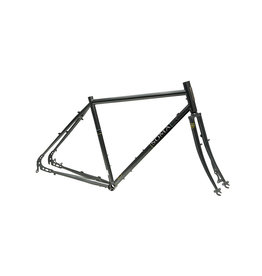 Soma Fabrications - Saga Disc Frameset - Graphite