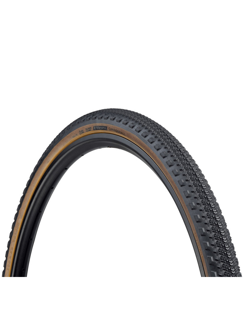 Teravail - Cannonball Light & Supple Tyre - 38c x 700 - Tan Wall