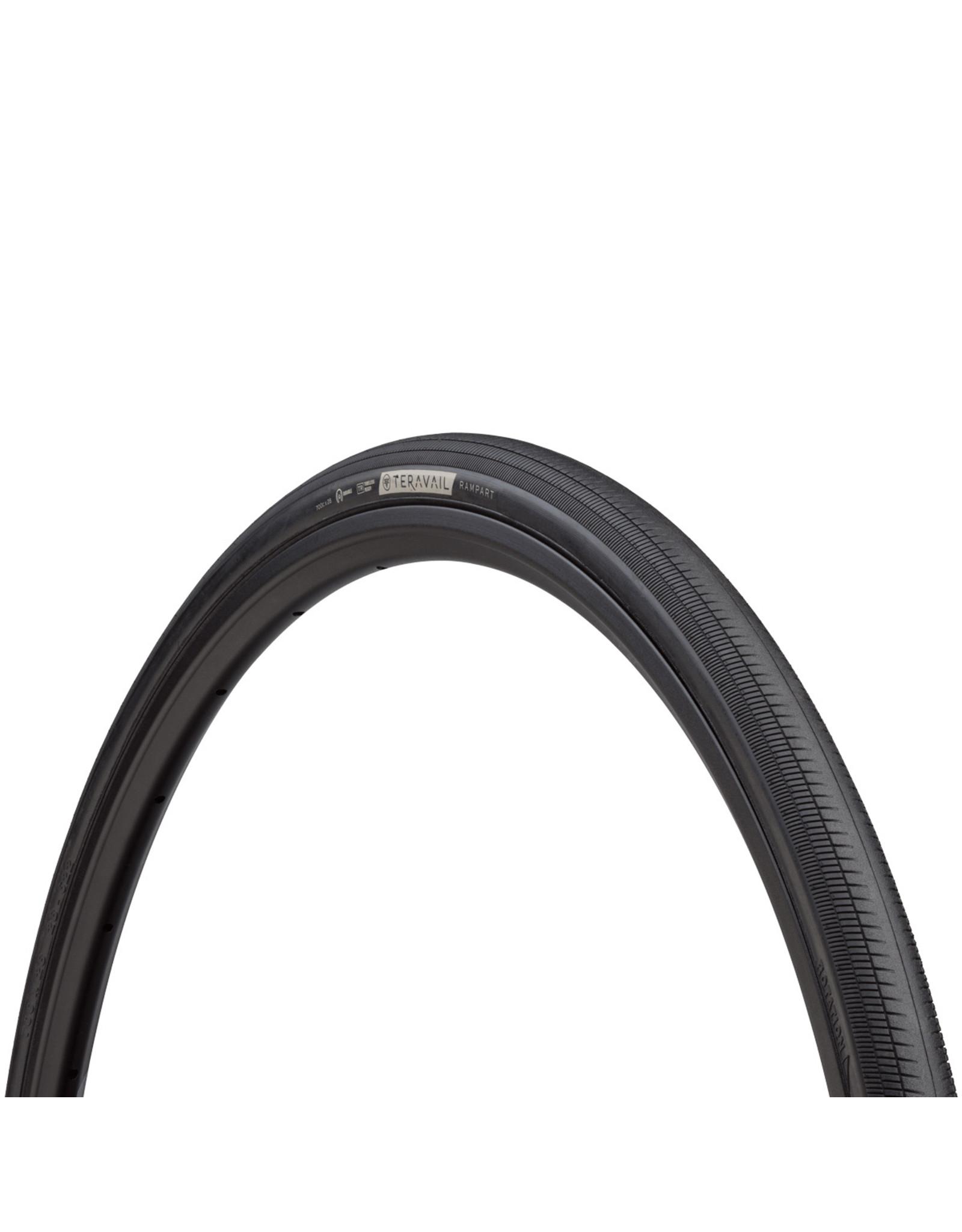 Teravail - Rampart Light & Supple Tyre - 28c x 700 - Black