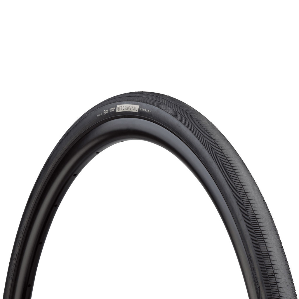 Teravail - Rampart Light & Supple Tyre - 32c x 700 - Black