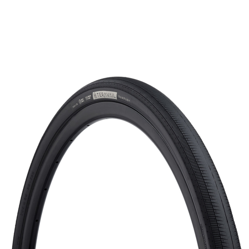 Teravail - Rampart Light & Supple Tyre - 38c x 700 - Black