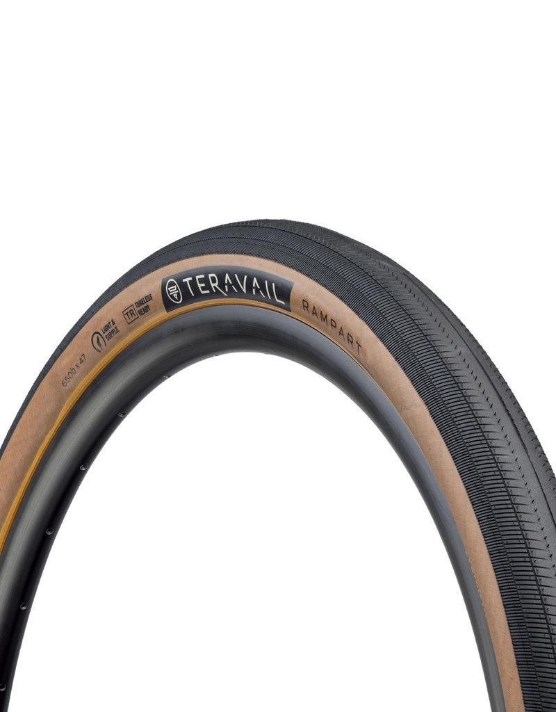 Teravail - Rampant Light & Supple Tyre - 47c x 650b - Tan Wall