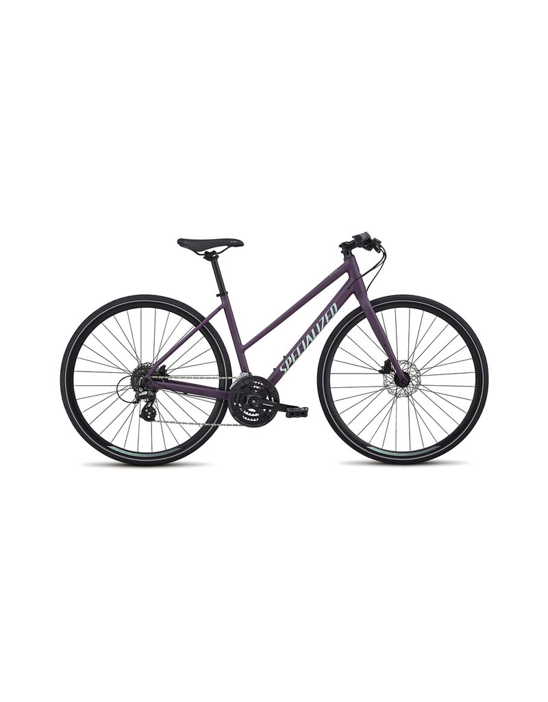 Specialized Specialized - Sirrus 2019 Women's Step-Through - Cast Berry / Mint