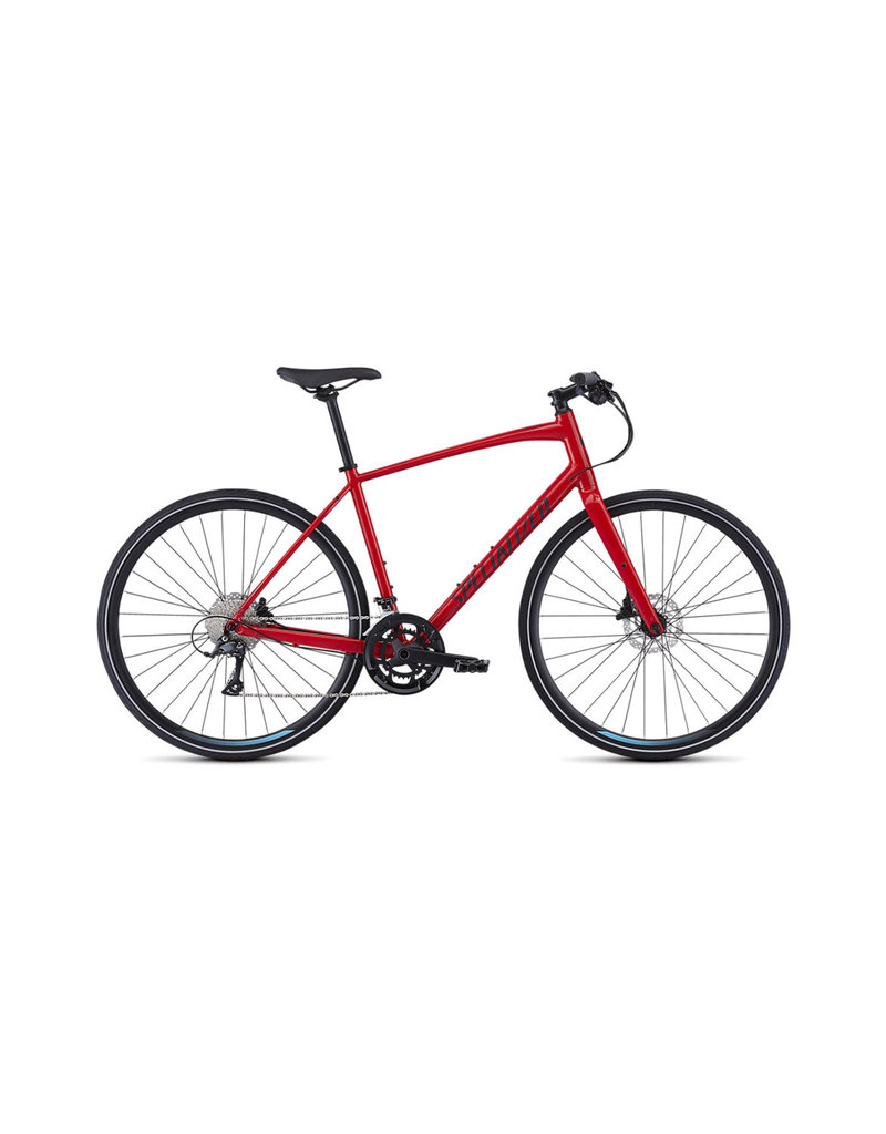 Specialized Specialized - Sirrus Sport 2019 Men's - Gloss Flo Red / Black / Black Reflective