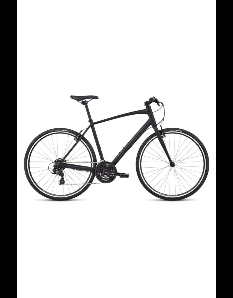 Specialized Specialized - Sirrus 2019 Men's V-Brake - Black Gloss Black / Black Reflective