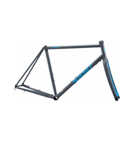 Ritchey - Road Logic Disc Frameset - Slate Grey & Blue