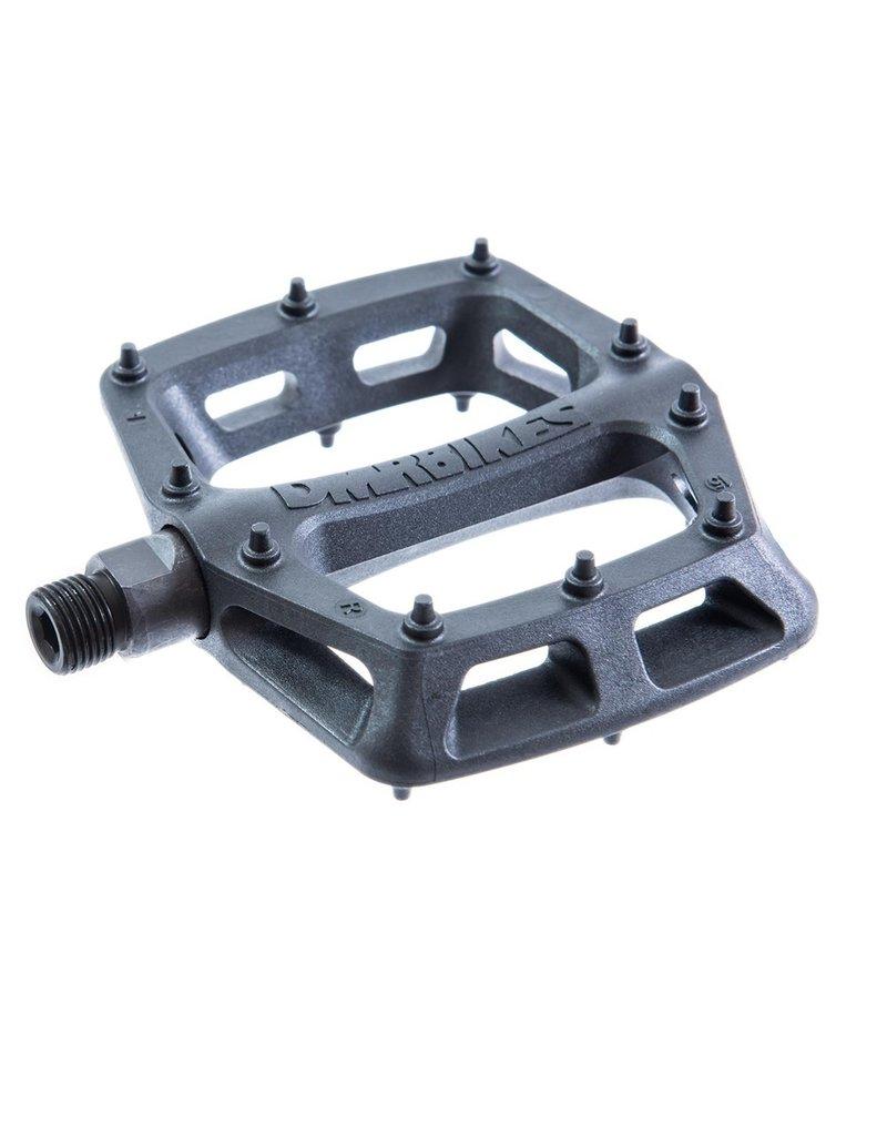 DMR - V6 Plastic Pedal - Cro-Mo Axle - Black