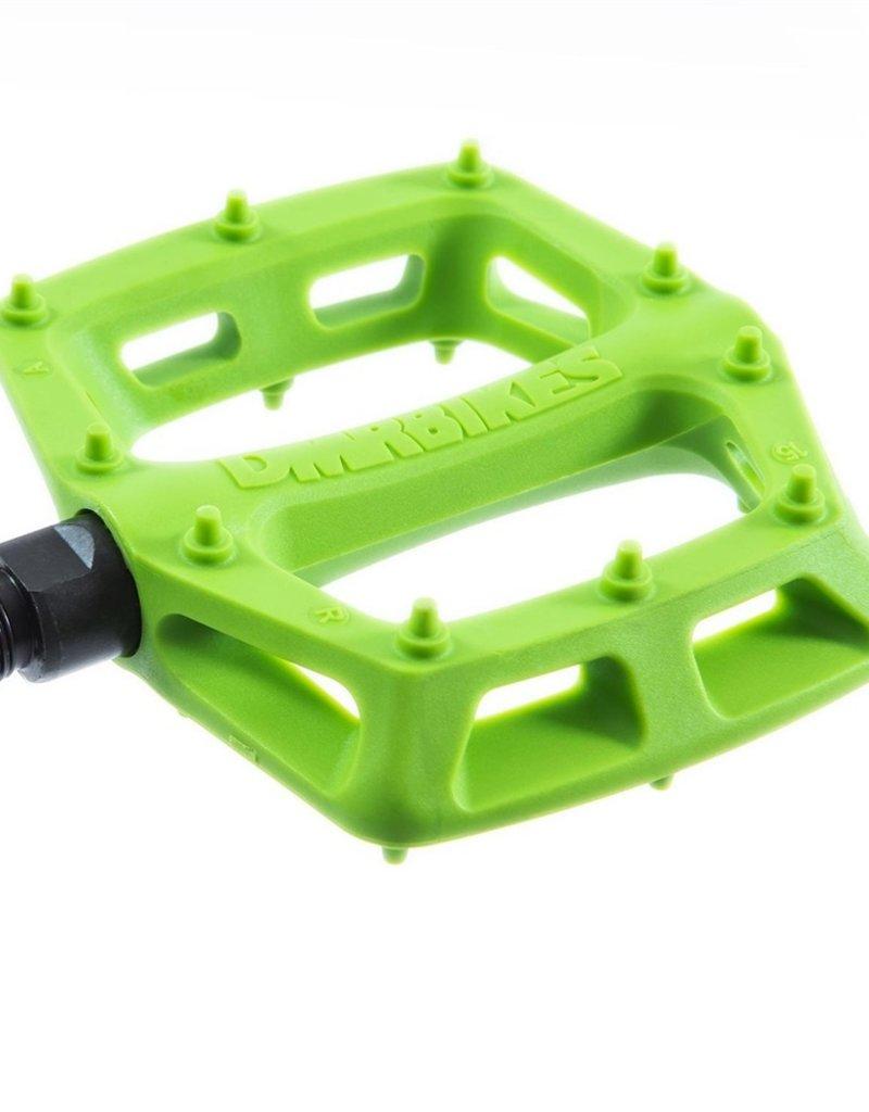 DMR - V6 Plastic Pedal - Cro-Mo Axle - Green