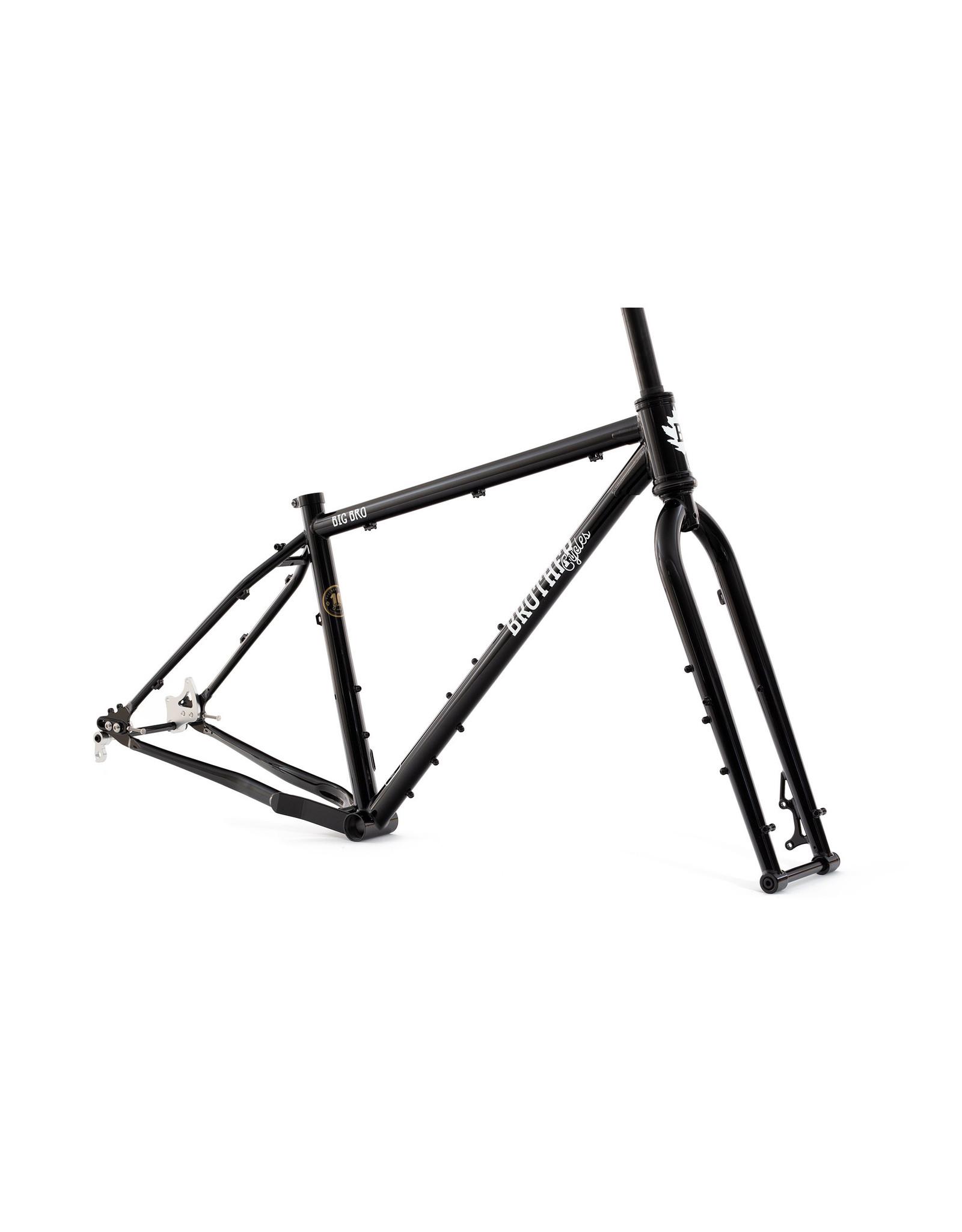Brother Cycles - Big Bro 2020 Frameset - Black