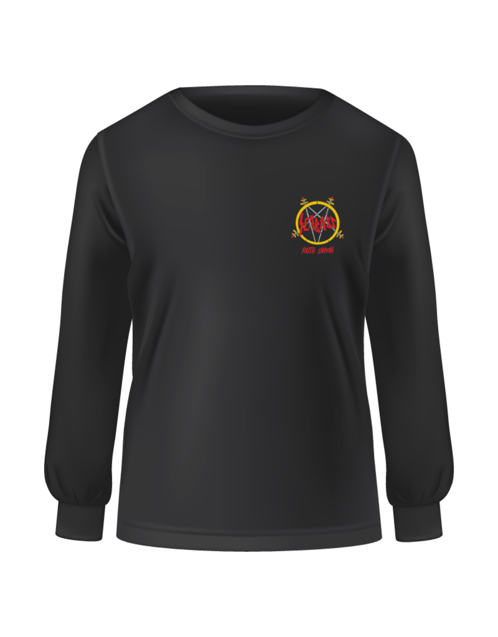 Seabass Cycles Seabass Cycles - Slayer Sweatshirt - Black