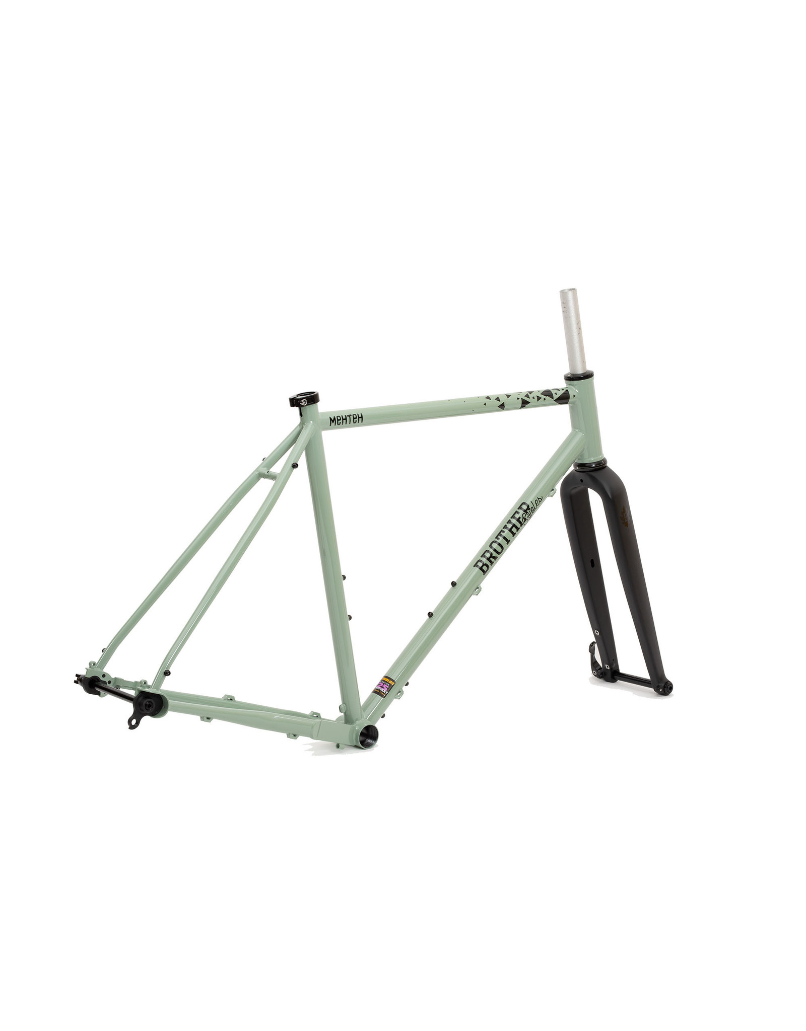 Brother Cycles - Mehteh 2020 Frameset - Green / Black