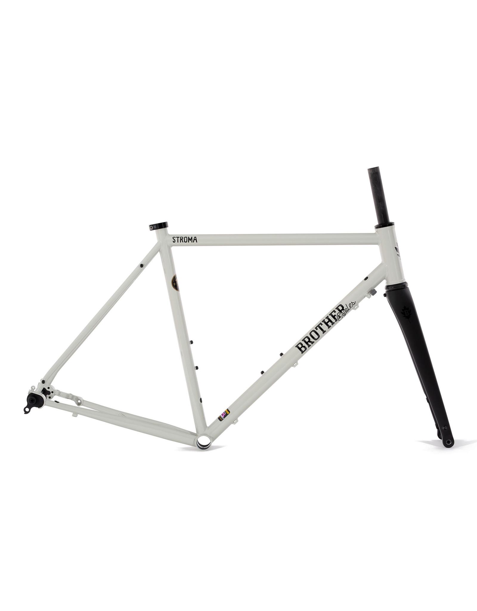 Brother Cycles - Stroma 2020 Frameset - Ivory / Black
