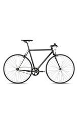 2018 6KU Fixie & Single Speed Bike - Shelby 2Size:49cm black frame /  blue wheels