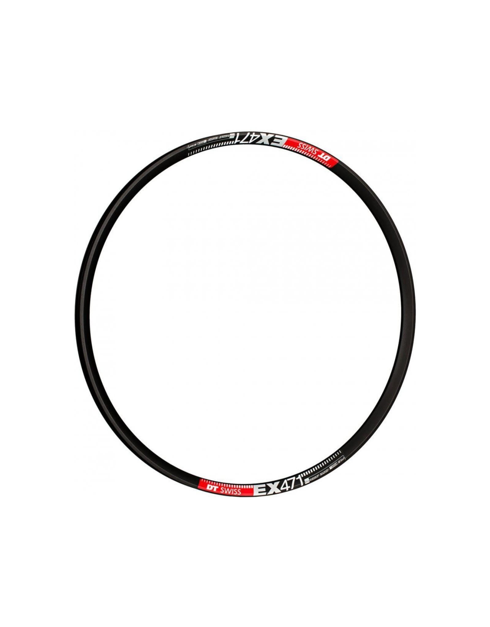 EX 471 SBWT disc-specific 32 hole Presta-drilled black - 29er