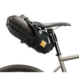 Restrap Carry Saddle bag & Dry bag (8 Litre) - Black/Black