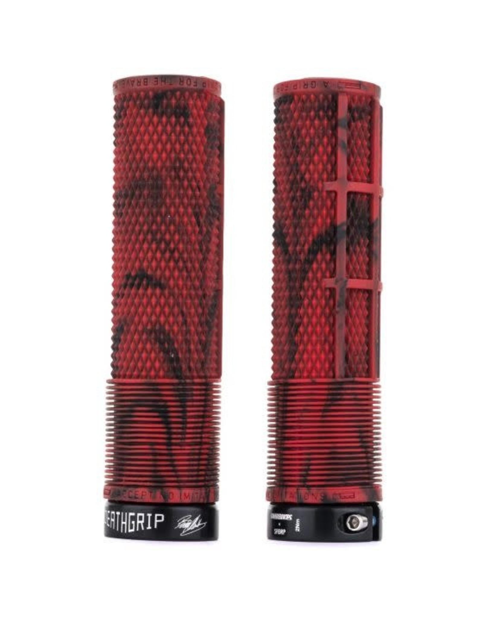 DMR - BRENDOG DeathGrip - Thin - Marble Red