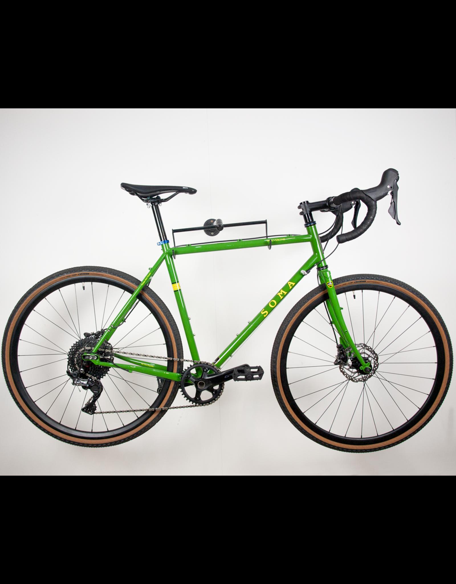 Seabass cycles X Soma Wolverine shopfloor build GRX - 54cm