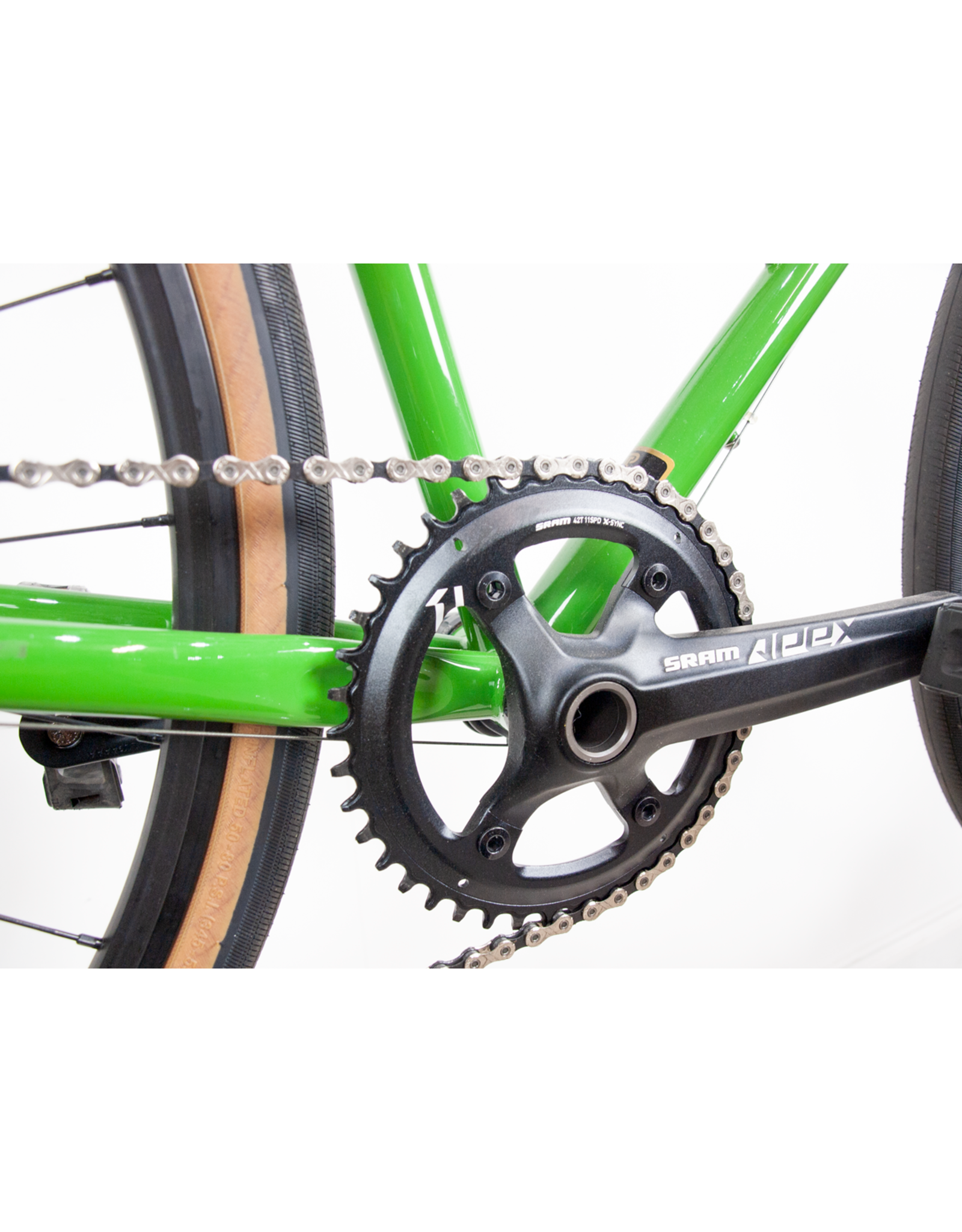 Seabass cycles x Soma wolverine shopfloor build - 54cm