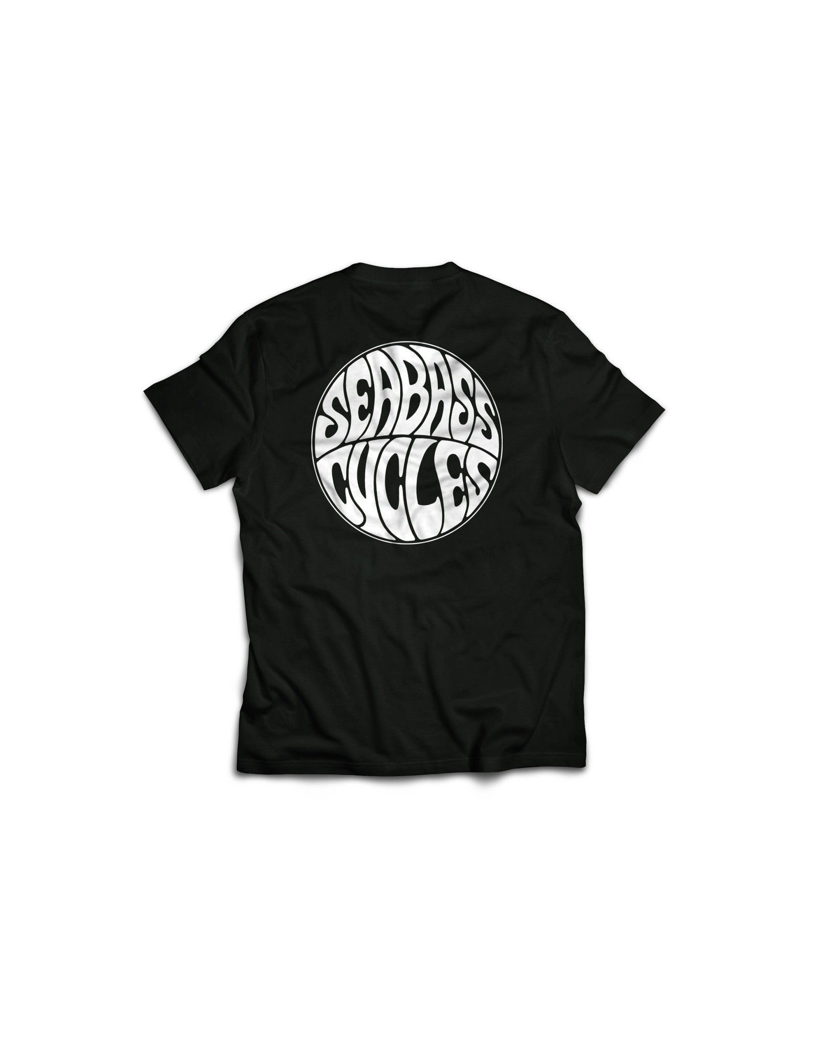 Seabass Cycles Seabass Cycles - Circle Logo - Black / White Ink